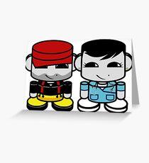 Daddy & Mommy Yo O'BABYBOT Toy Robot 1.0 Greeting Card