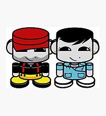 Daddy & Mommy Yo O'BABYBOT Toy Robot 1.0 Photographic Print