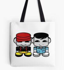 Daddy & Mommy Yo O'BABYBOT Toy Robot 1.0 Tote Bag