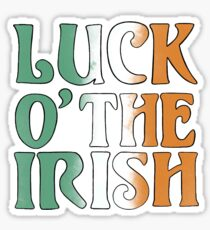 Luck of the Irish  Sticker