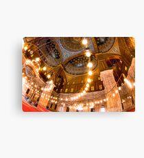 Lift Me Up - Cairo Landmark Mosque Canvas Print