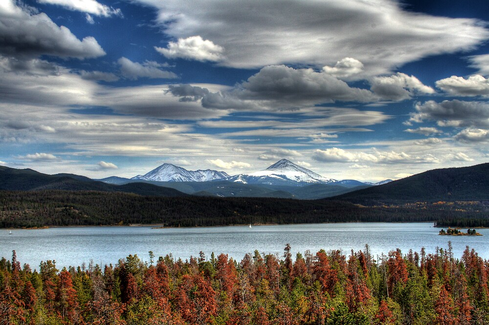 Lake Dillon in Fall by Scott Ingram