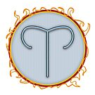 Aries Symbol by ToxicMaiden