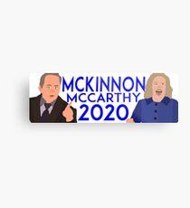 McKinnon-McCarthy Campaign SNL Metal Print