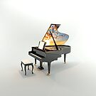Grand Piano Dream by dstarj