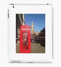 London: Phone Booth iPad Case/Skin