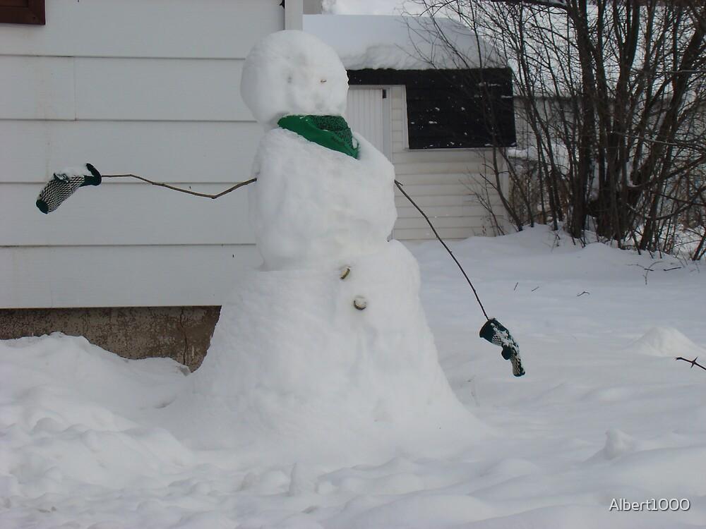 Snowman by Albert1000
