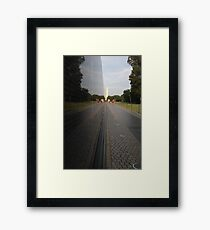 Washington: Vietnam Veterans Memorial Framed Print