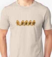 Idaho Potatoes Vintage Travel Decal T-Shirt