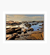 Low Tide at Kidd's Beach Photographic Print