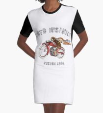 INDIAN MOTORCYCLE MOTO INSANICA Graphic T-Shirt Dress
