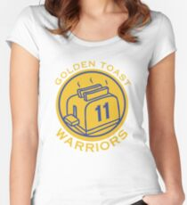 57e53011d Golden Toast Warriors Women s Fitted Scoop T-Shirt