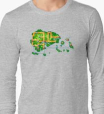 Hoenn map Long Sleeve T-Shirt