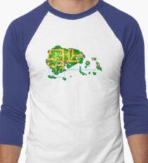 Hoenn map Men's Baseball ¾ T-Shirt