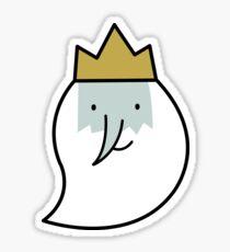Ice King (Finn's Sweater, Elements)  Sticker