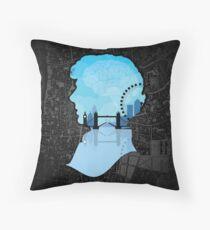 Sherlock's London Throw Pillow