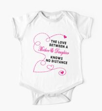 Mother and Daughter - Mother's day One Piece - Short Sleeve