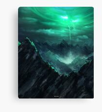 The breach Canvas Print