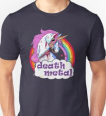 Zombie Unicorn Death Metal Unisex T-Shirt