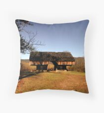 Cantilever Barn at Tipton Place Throw Pillow