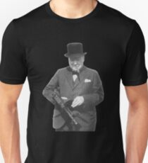 Sir Winston Churchill Slim Fit T-Shirt