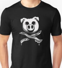 Pig Bacon Crossbones T-Shirt