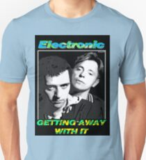 "Joy Division New Order Smiths Electronic ""Getting Away With It"" design Unisex T-Shirt"