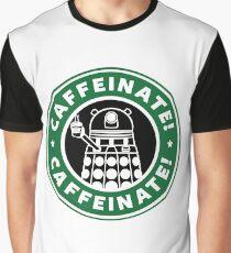 Dalek Star Wrs Coffee Graphic T-Shirt