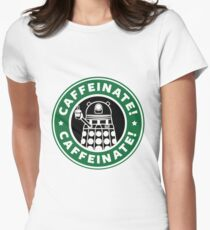 Dalek Star Wrs Coffee Women's Fitted T-Shirt