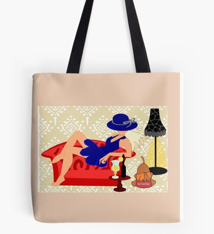 Relaxed on a Couch (8685  Views) Tote Bag