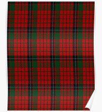 Nicolson MacNicol Clan/Family Tartan  Poster