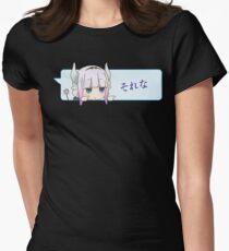 それな That's Right - Kanna - Dragon Maid Kobayashi Womens Fitted T-Shirt