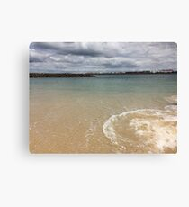 Beautiful clear water at Yarra Bay Beach Sydney, Australia  Canvas Print
