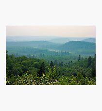 Smokey Hills  Photographic Print