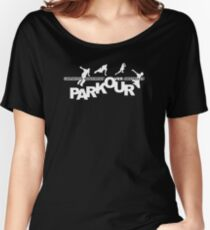 Unlimited movement ver obstacles Parkour Women's Relaxed Fit T-Shirt