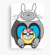 Totoro mashup Canvas Print