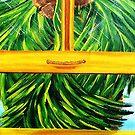 Coconuts in the Window by WhiteDove Studio kj gordon