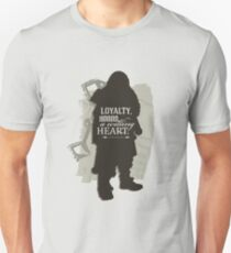 Loyalty. Honor. A Willing Heart. Unisex T-Shirt