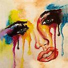Rainbow tears by Picatso
