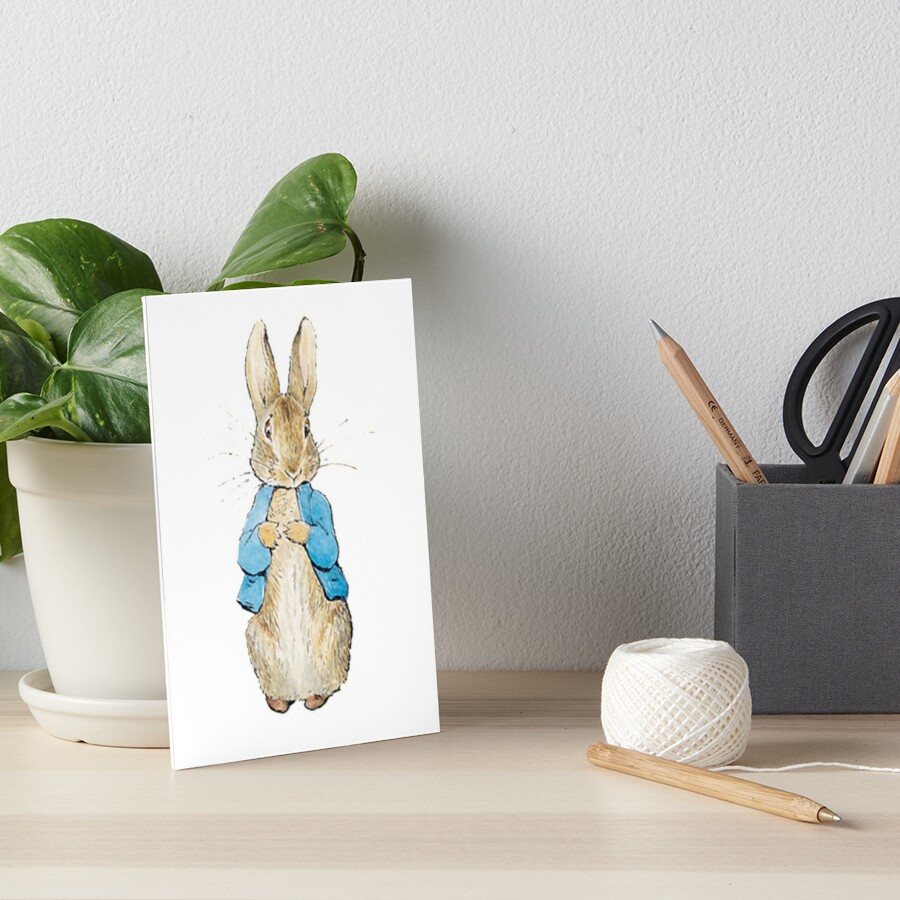 Peter Rabbit Art Board Print