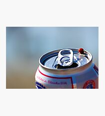Pabst Blue Lady Photographic Print