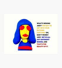 Joey Ramone, Noel Fielding's Luxury Comedy Art Print