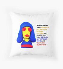 Joey Ramone, Noel Fielding's Luxury Comedy Throw Pillow