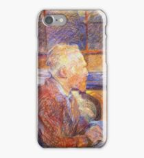 Henri De Toulouse Lautrec Portrait Of Vincent Van Gogh 1887  iPhone Case/Skin