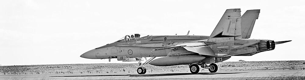 RAAF FA-18 Hornet by Nathan T