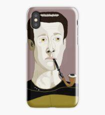 Commander Data  iPhone Case/Skin