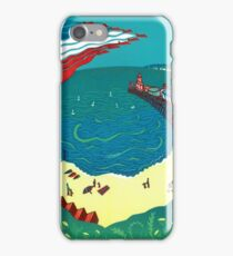 Red Arrows, Bournemouth Beach iPhone Case/Skin