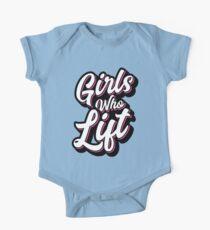Girls Who Lift Script Kids Clothes