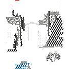 abstrakte Landschaft, abstract landscape, geometric pattern,Gong Fu von einechtervogel