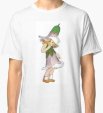 Cute Vintage Flower Child Gentian Classic T-Shirt